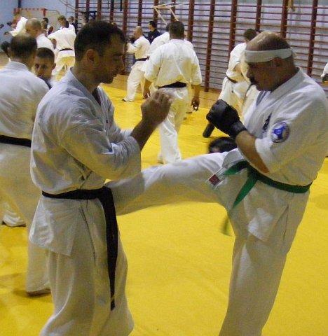 Seminarium Kumite w Wałczu 2011