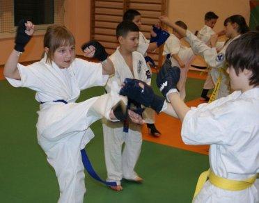 Zimowa Szkoła Karate w Inowrocławiu 2012