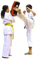 trening elementów kumite