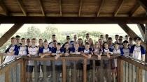 Uczestnicy IV Obozu Juniorów PFKK