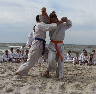Maciej Kuliński w finałowej walce sumo