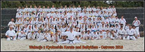 Wakacje z Karate nad Bałtykiem w Ostrowie