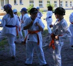 Wakacje z Karate w Mikoszewie 2011
