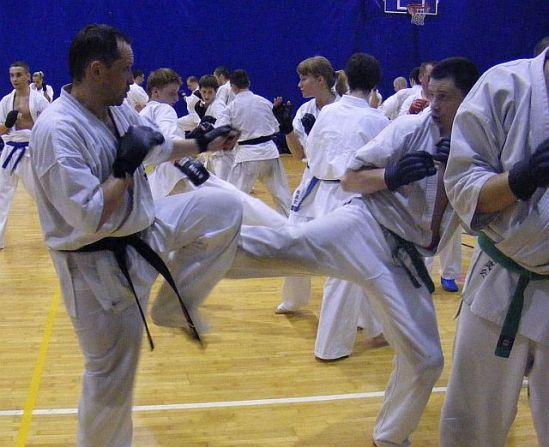Seminarium kumite w Wałczu 2009