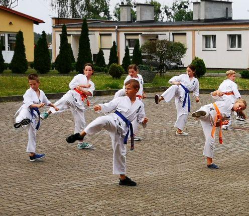 Letnia Szkoła Karate w Tucholi 2019